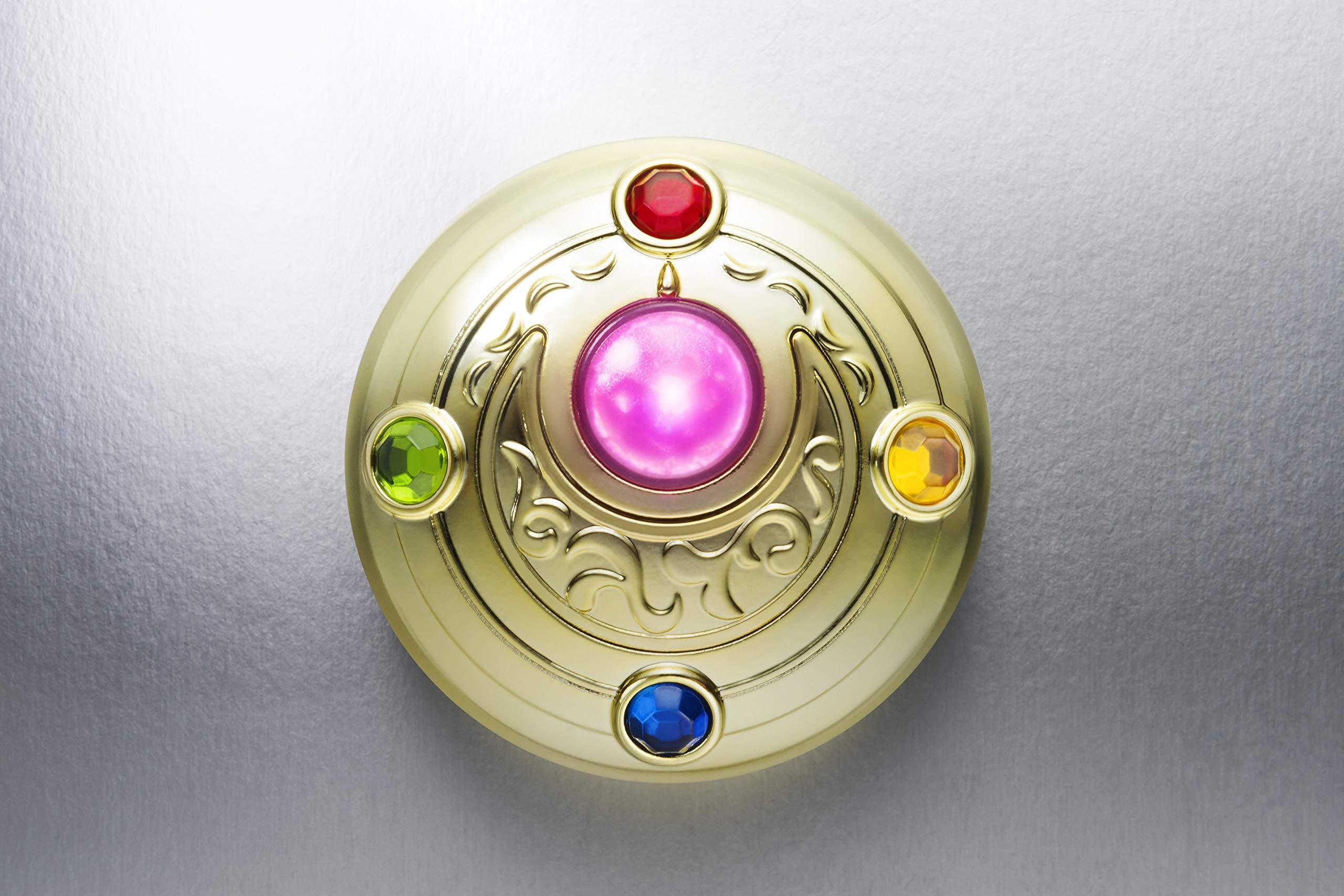 Bandai Tamashii Nations Proplica Transformation Brooch & Disguise Pen Set ''Sailor Moon'' Statue by Tamashii Nations (Image #8)