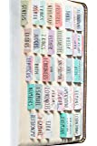 DiverseBee Laminated Bible Tabs (Large Print, Easy to Read), Personalized Bible Journaling Tabs, 66 Book Tabs and 14…