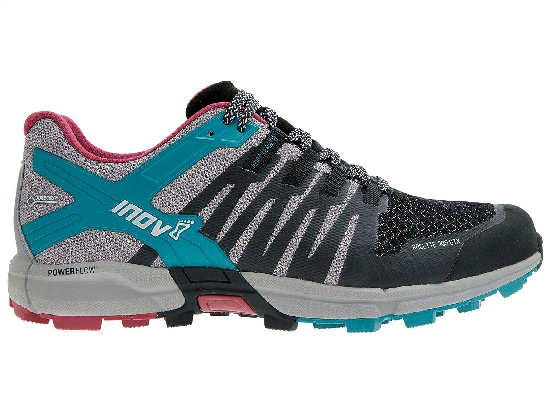 INOV-8 Nouveaux Chaussures de Course Roclit305 GTX® Womens Trail Chaussures de Sport Noir/Gris