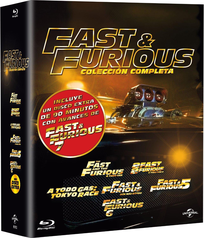 Pack: Fast & Furious 1-6 + Bonus Disc [Blu-ray]: Amazon.es: Paul ...