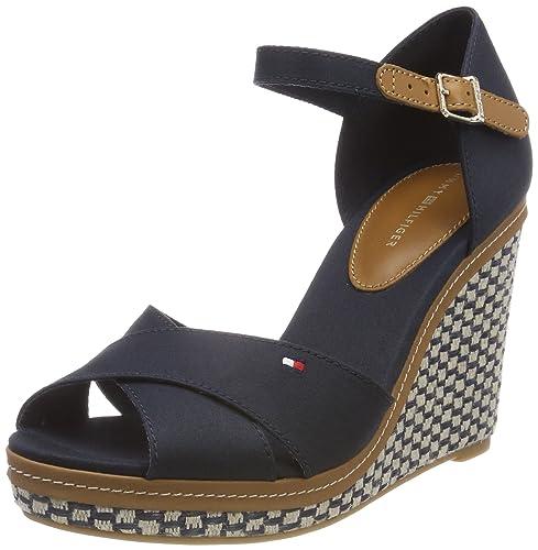 Tommy Hilfiger Iconic Elena Basic, Alpargata para Mujer: Amazon.es: Zapatos y complementos