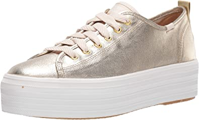 Triple Up Metallic Twill Sneaker