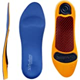 Rx Sorbo Sorbothane Ultra Orthotic Arch Insoles, Female 12 / Male -9.5 - 10.5