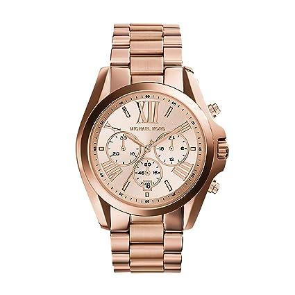 4ade0bd67 Amazon.com: Michael Kors Roman Numeral Watch MK5503 Rose Gold: Michael Kors:  Watches