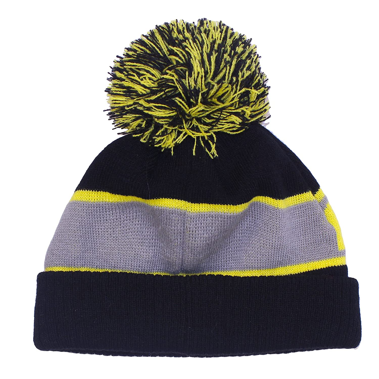 Official Licensed Boys Kids Pokemon Pikachu Winter Bobble Beanie Hat Age  11-13 Years  Amazon.co.uk  Clothing 3ec42cbad908