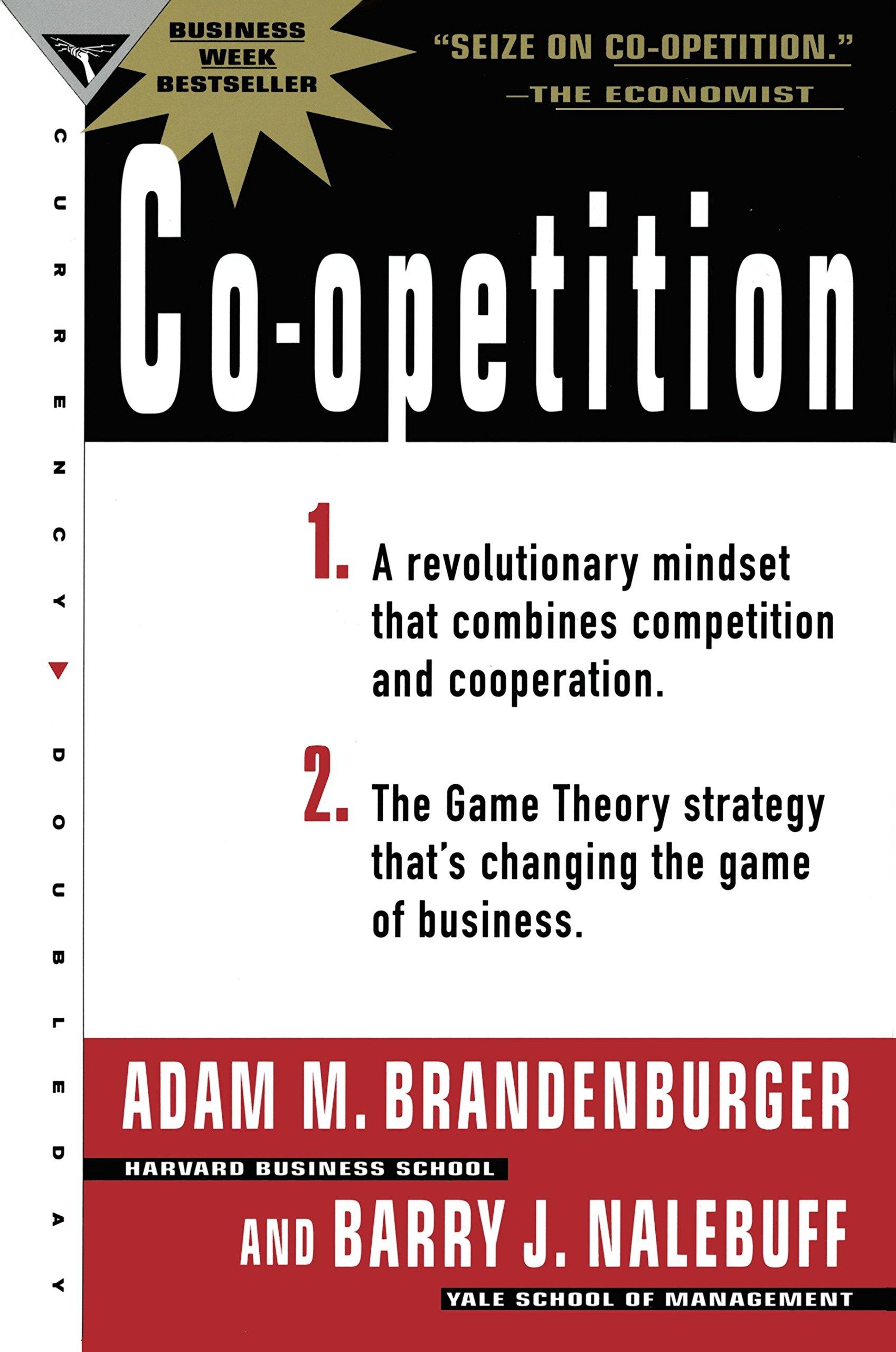 CO-OPETITION: Amazon.es: Brandenburger, Adam, Nalebuff, Barry J.: Libros en  idiomas extranjeros