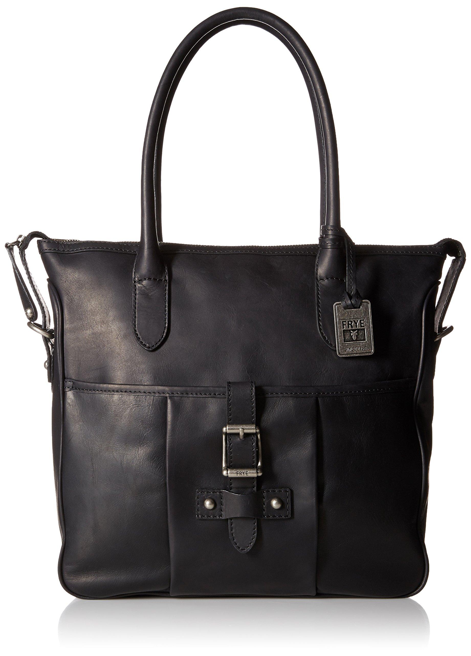 FRYE Parker Tote Shoulder Bag, Black, One Size