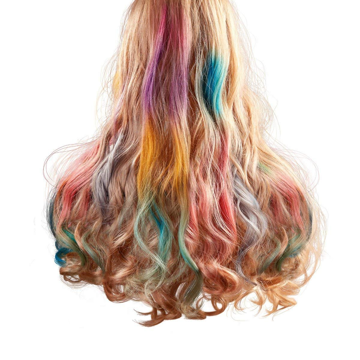 Maydear Temporary Hair Chalk Comb-Non Toxic Washable Hair Color Comb for Hair Dye-Safe for Kids for Party Cosplay DIY (6 Colors) by Maydear (Image #6)