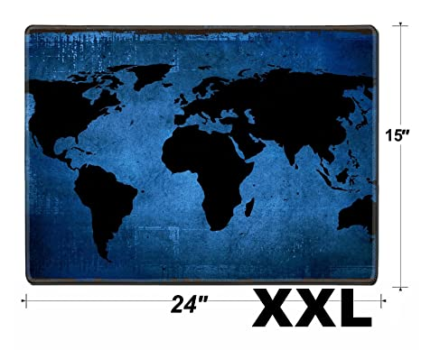 Amazon msd extra large mouse pad xxl extended non slip rubber msd extra large mouse pad xxl extended non slip rubber large gaming desk mat image gumiabroncs Choice Image
