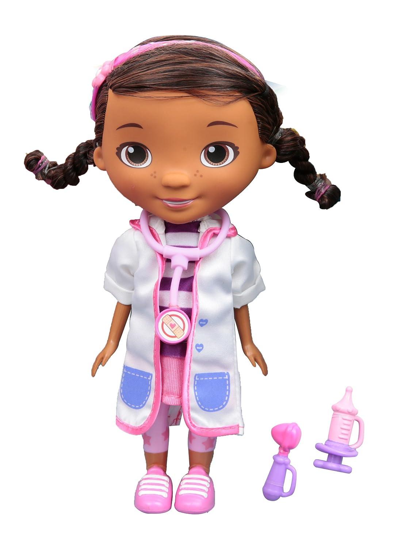 Doctora Juguetes Doc McStuffins – Puppe Puppe mit Zubehör 20 cm