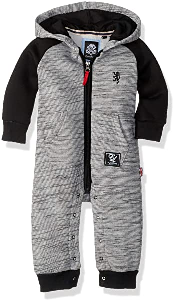 1d9d24a59 Amazon.com  English Laundry Baby Boys Fleece Coverall  Clothing