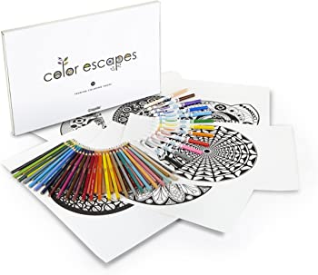 Crayola Color Escapes Coloring Pages & Pencil Kit