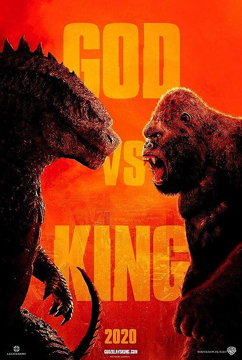 Amazon.com: newhorizon Godzilla vs Kong 2020 Movie Poster 14'' x 21'' NOT A DVD: Posters & Prints