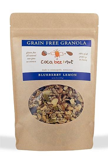 Coco, abejas y tuerca: grano libre granola: limón de ...