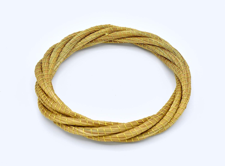 Golden Grass Bangle//Capim Dourado Bracelet//Pulseira Capim Dourado//Gold Woven Bracelet
