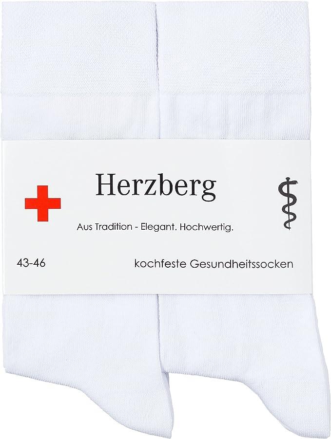 SoXies Socken mit Gel Pad Gesundheitssocken Größe 42-45 Weiss