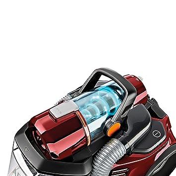 AEG LX7 Power Animal Aspiradora sin bolsa especial mascotas, color rojo chile + AEG AFS1W - Filtro Hepa 13 para aspiradoras trineo de AEG, ...