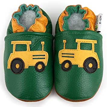Amazon.com: Augusta Baby Baby Boys Girls First Walker Soft ...