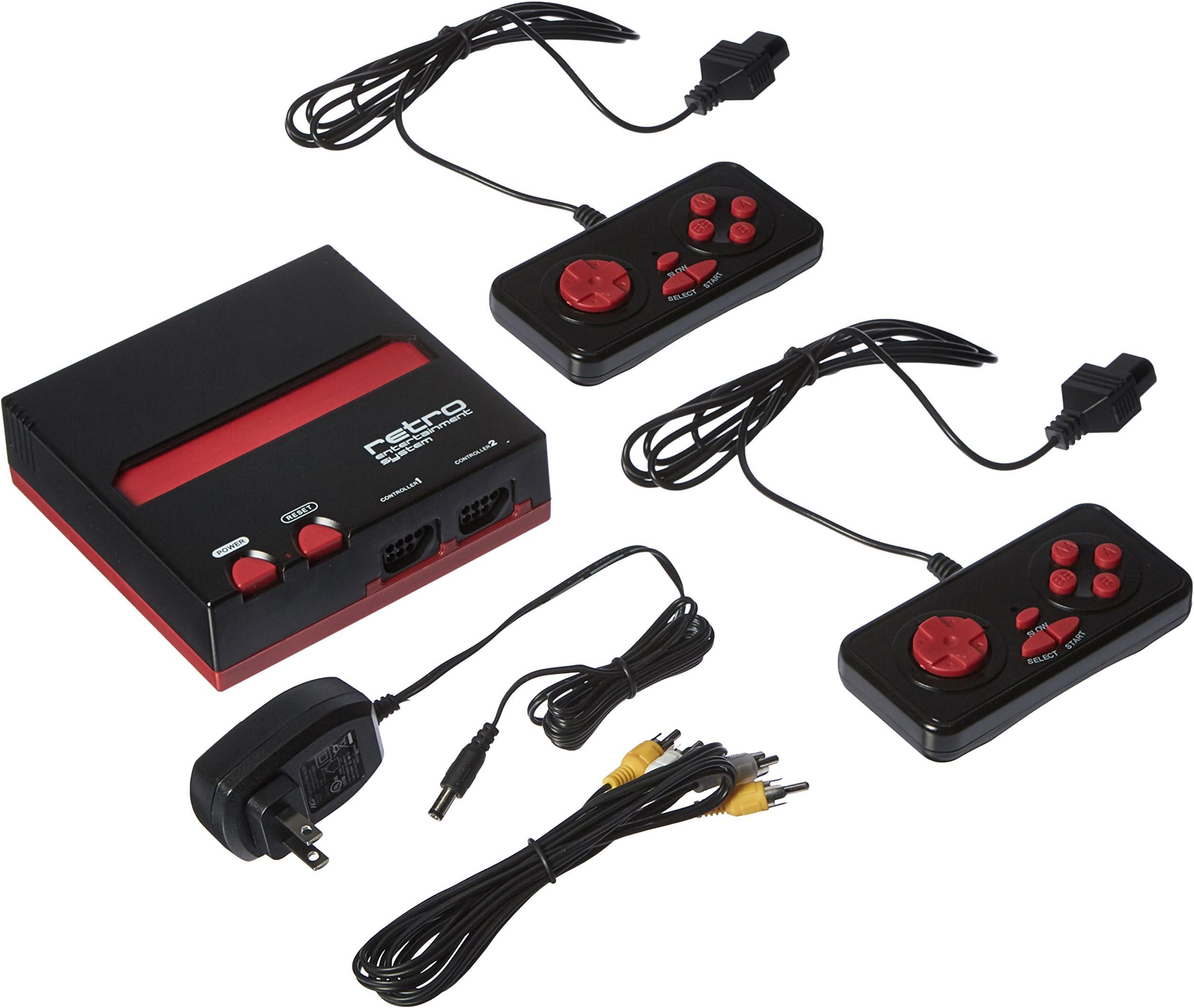 Amazon.com: NES Retro Entertainment System(Black/Red ...