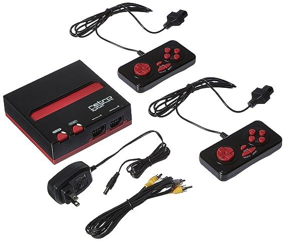 Imps - Consola Nintendo NES Retro 8-Bit, Color Rojo Y Negro ...