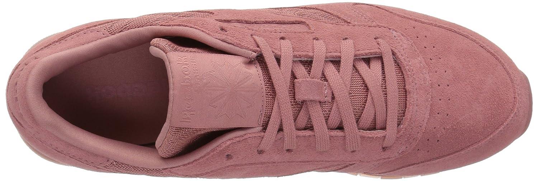 Reebok Sneaker Women's Cl Lthr Lace Sneaker Reebok B074TSNPDQ 5 M US|Sandy Rose/White c00efd