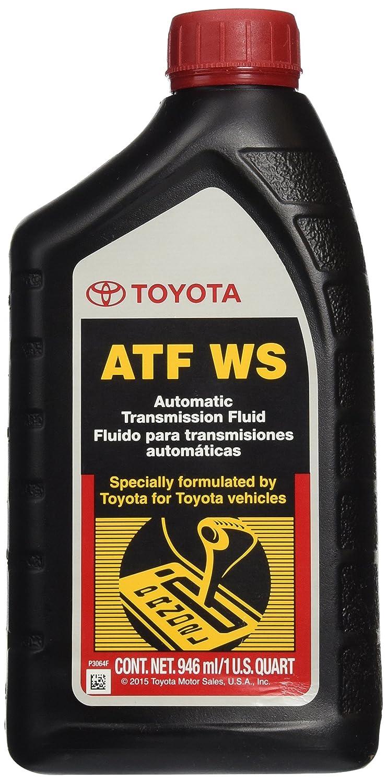 Genuine Toyota Lexus Automatic Transmission Fluid 1QT WS ATF World Standard (4 Pack) 00289-ATFWS