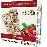 Libre Naturals Red Berry Chewy Granola Bars - Vegan, Gluten-Free, Kosher, Nut-Free, Non-GMO, Dairy-Free, No Artificial…