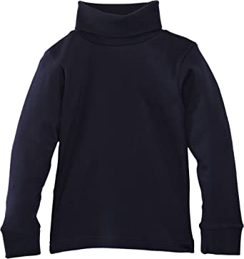 Blue Max Kids Derwent High Neck Pull Over Childrens Long Sleeves Polo Pullover