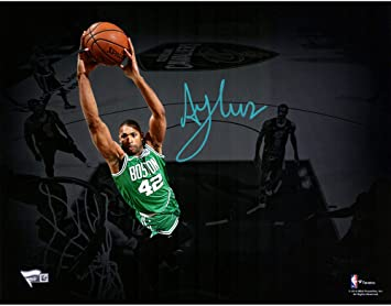 Al Horford Boston Celtics Autographed 11 quot  x 14 quot  Horizontal  Spotlight Photograph - Fanatics Authentic f4ece7d44