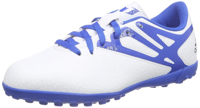 Amazon.com | adidas Messi 15.4 TF Junior Kids Astro Turf Soccer Soccer Trainer Shoe White | Soccer