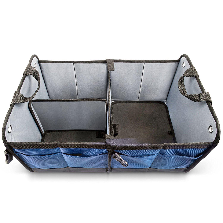 Klappbox Kofferraumbox Faltbox Organizer Autobox Tasche Auto Kofferraum Zubeh/ör f/ür Fiat 500 Premium Kofferraum-Tasche