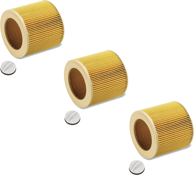 Cartuchos Filtro para aspiradora en húmedo/seco húmedo aspirador ...