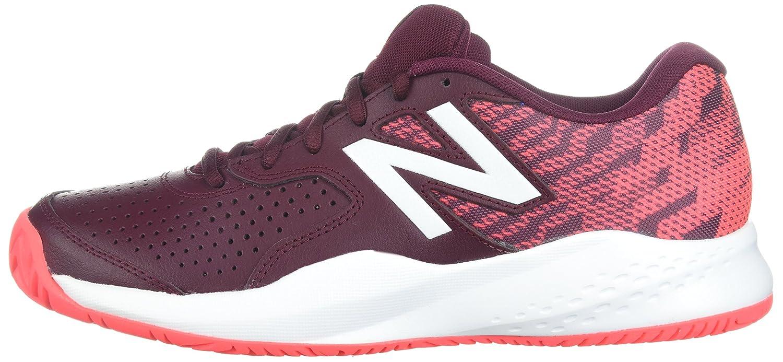 New Balance Women's 696v3 Tennis-Shoes Coral B01N6KKB84 11 D US|Oxblood/Vivid Coral Tennis-Shoes 5882ca