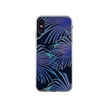 coque iphone x feuille de palmier