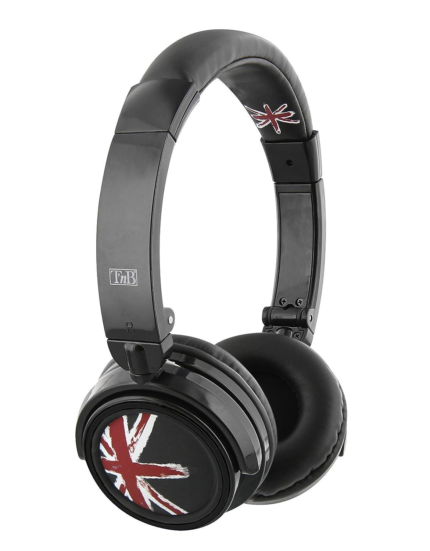 TnB CBSHINELD Binaural Diadema Negro auricular con micrófono: Amazon.es: Electrónica