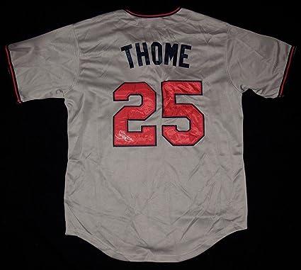 a4d1c7bd5 Jim Thome Autographed Jersey (minnesota Twins) W Coa! - Autographed ...