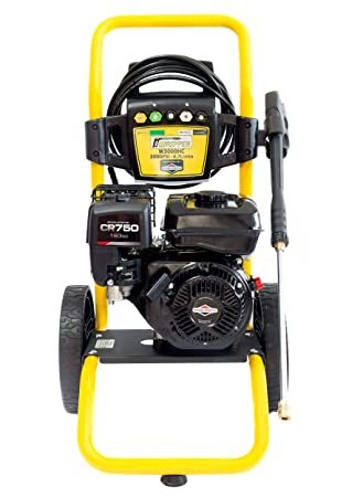 WASPPER ✦ Hidrolimpiadora de Motor de Gasolina Briggs & Stratton 3000 PSI ✦ 163cc con Potencia