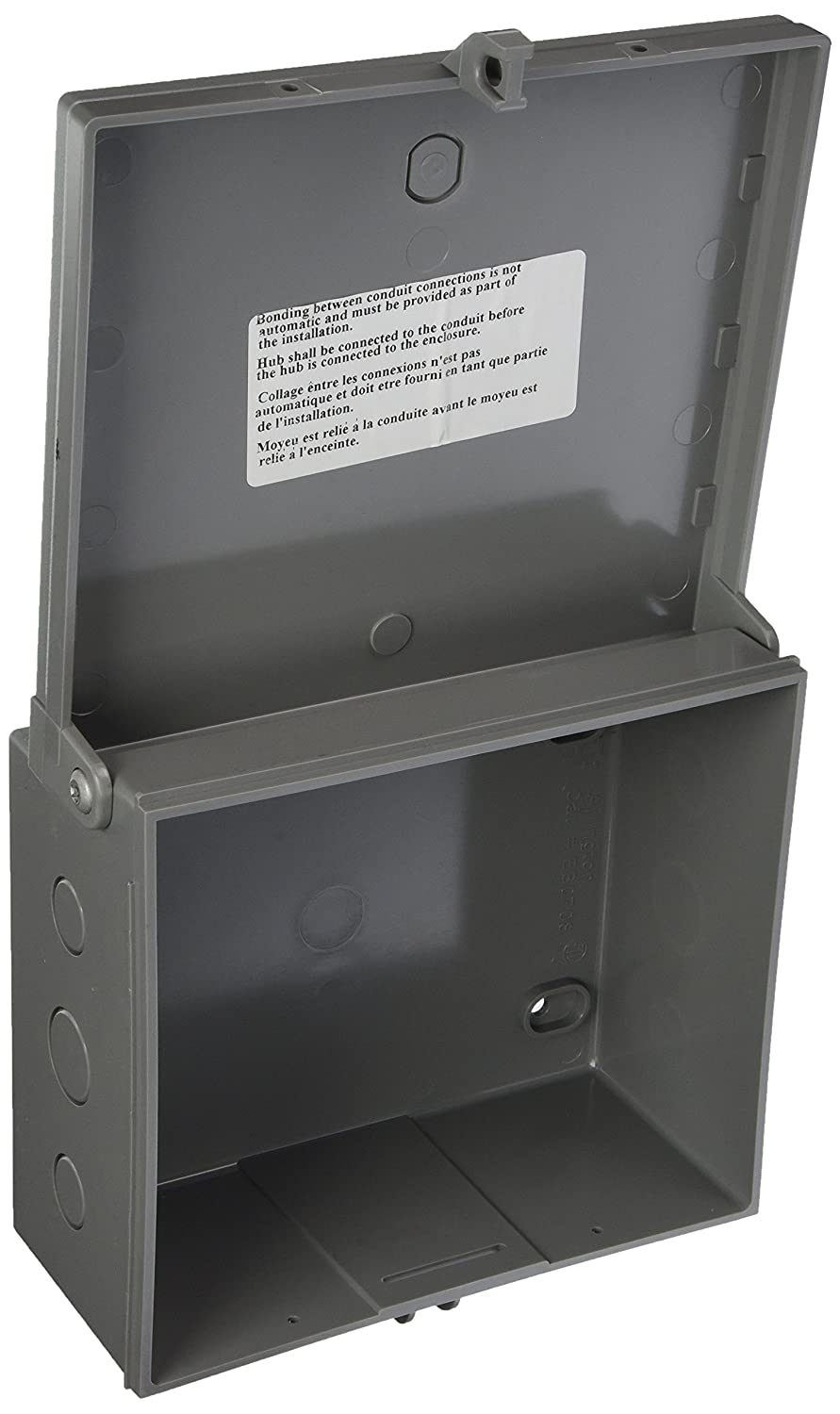 Arlington Eb1212 1 Electronic Equipment Enclosure Box 12 X 4 Heavy Duty Relay Contactor In A Lockable Metal Structured Wiring Panel Non Metallic Pack Switch And Outlet Plates