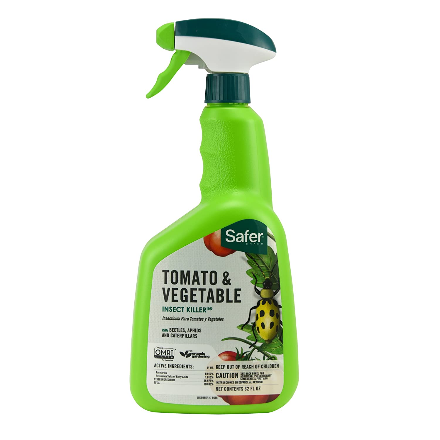 Amazon.com: WOODSTREAM LAWN & GRDN 683784 Ready to Use Safer Tomato And  Vegetable Insect Killer, 32 oz: Garden & Outdoor