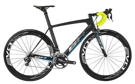 Bicicletta Bh G6 Pro Ul Di2 Negro Azul Amarillo Md Amazonit