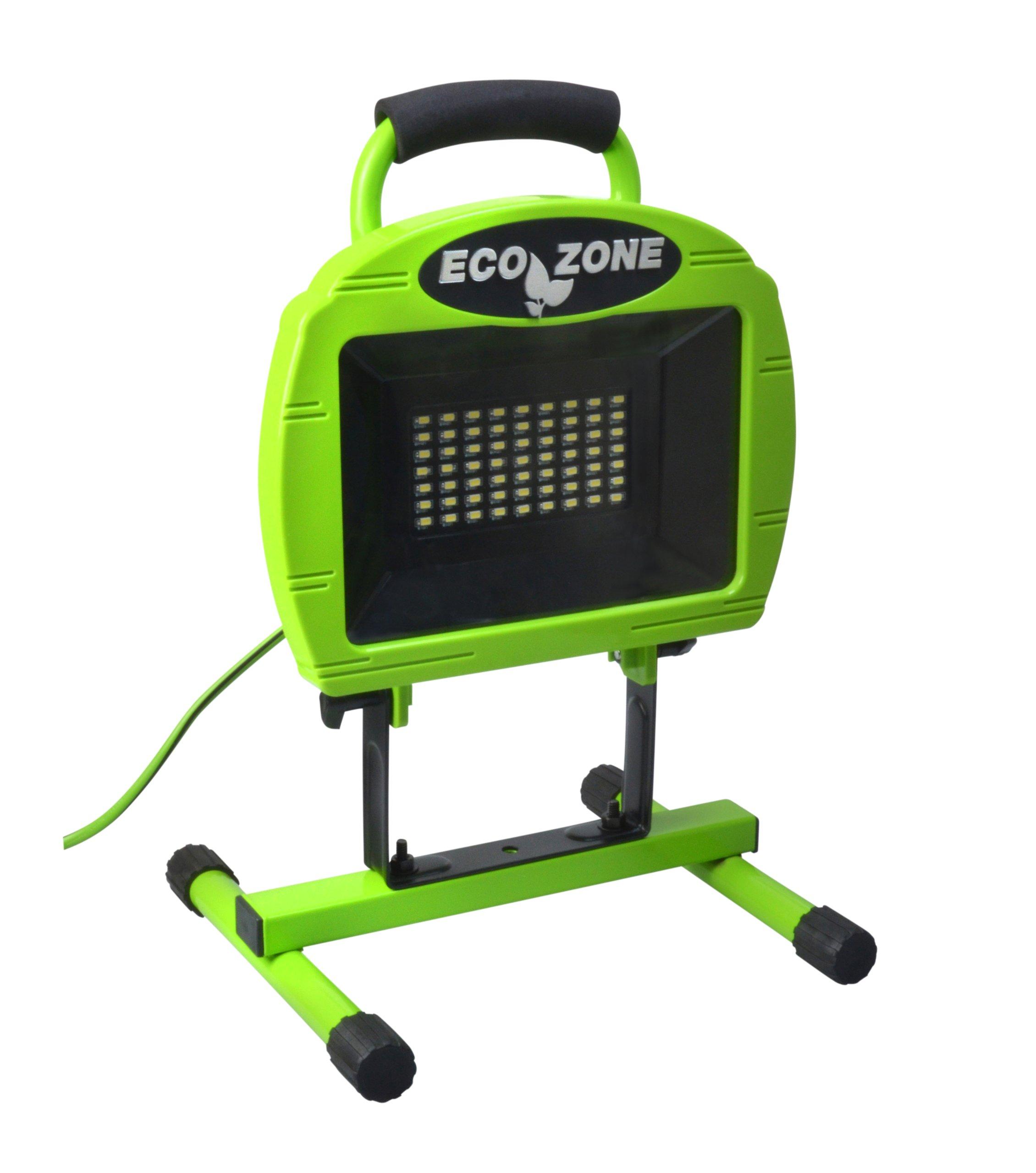 Designers Edge L1315 63-LED 1681-Lumen Portable Ecozone LED Work Light, Green