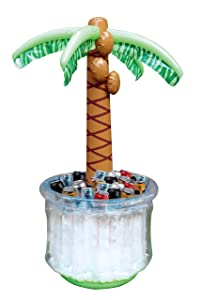 """JOYIN 60"""" Inflatable Palm Tree Cooler, Beach Theme Party Decor, Party Supplies for Pool Party and Beach Party"""