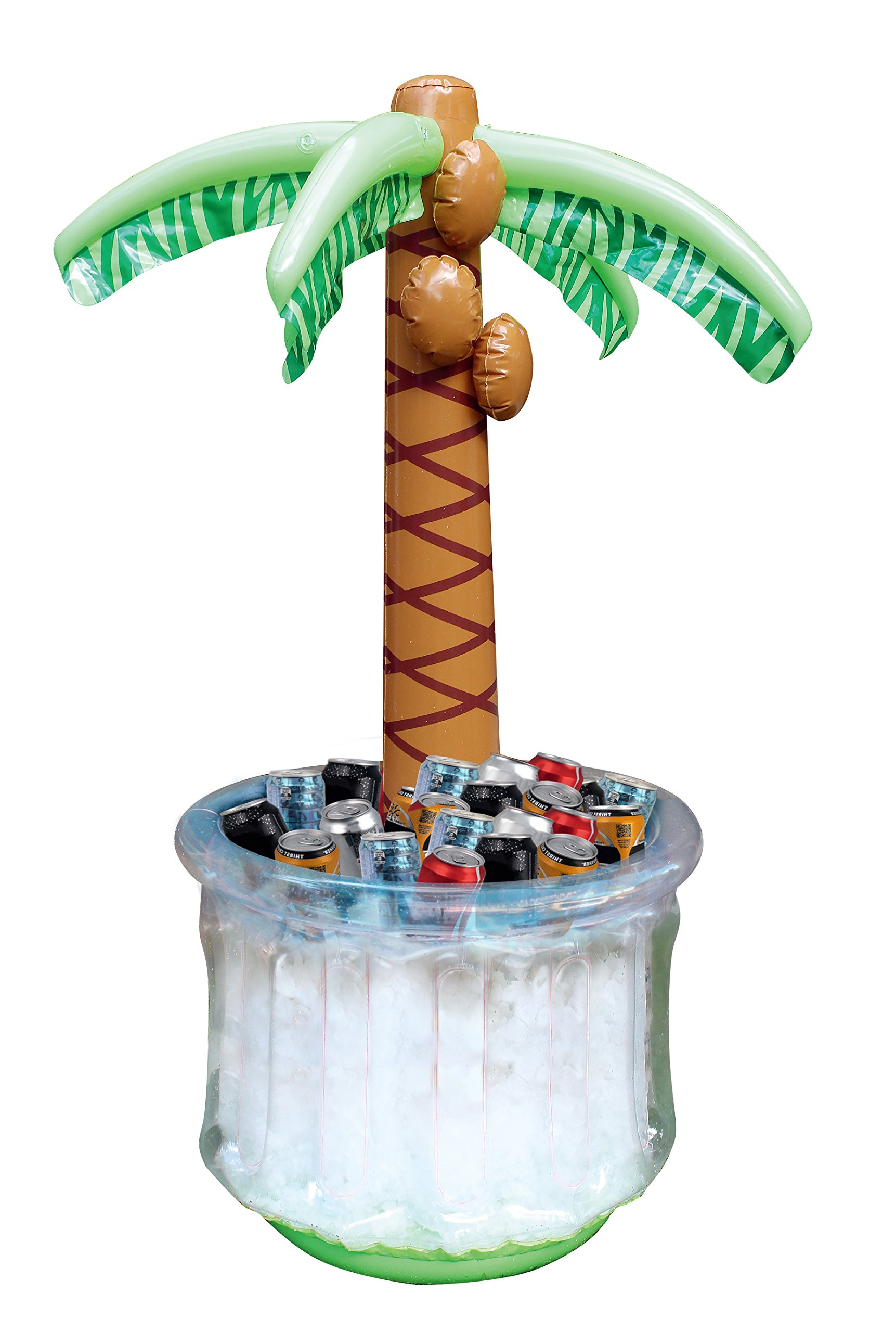 JOYIN 60'' Inflatable Palm Tree Cooler, beach theme party decor, party supplies for pool party and beach party by JOYIN