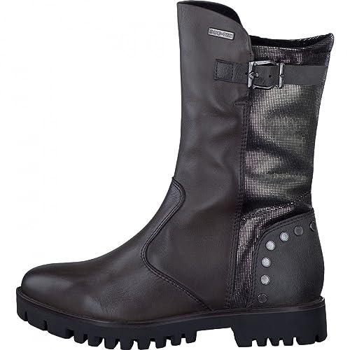 Tamaris Stiefel 1 26490 Schwarz Blockabsatz Damen Schuhe