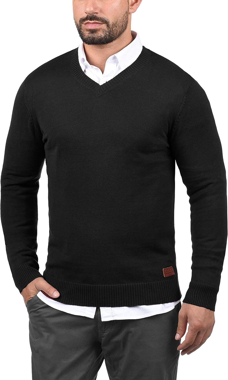 BLEND Lasse Maglione Pullover Maglieria Da Uomo Con Collo A V