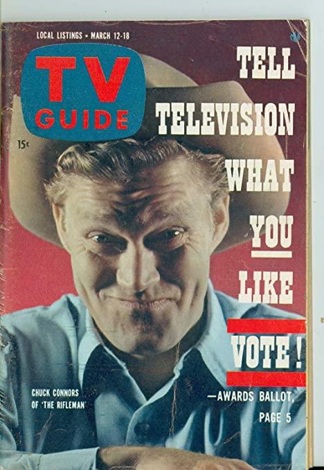 Review 1960 TV Guide Mar