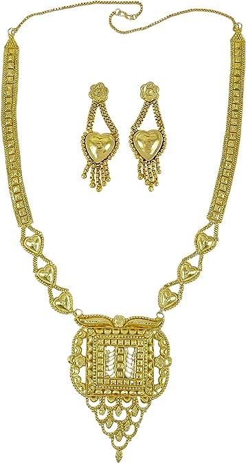 Indien Traditionnel Ethnique Collier Plaqué Or Set Bijoux Bollywood