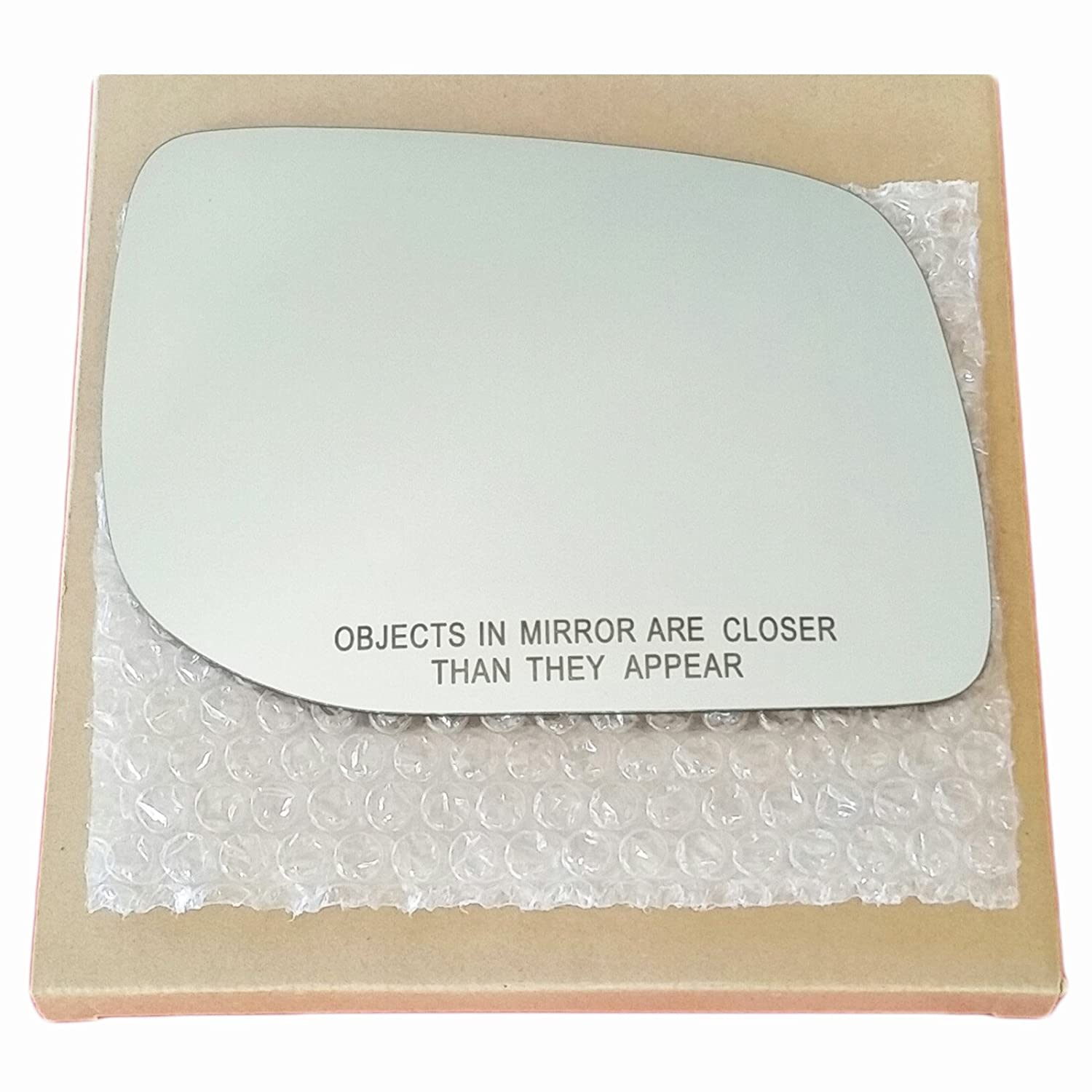 Mirror Glass and Adhesive 1995-2002 Range Rover Passenger Right Side Replacement AutoTruckMirrorsUnlimited