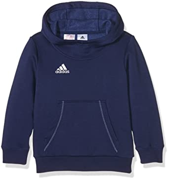 : adidas Core 15 Plain Hoodie Youth Navy Age