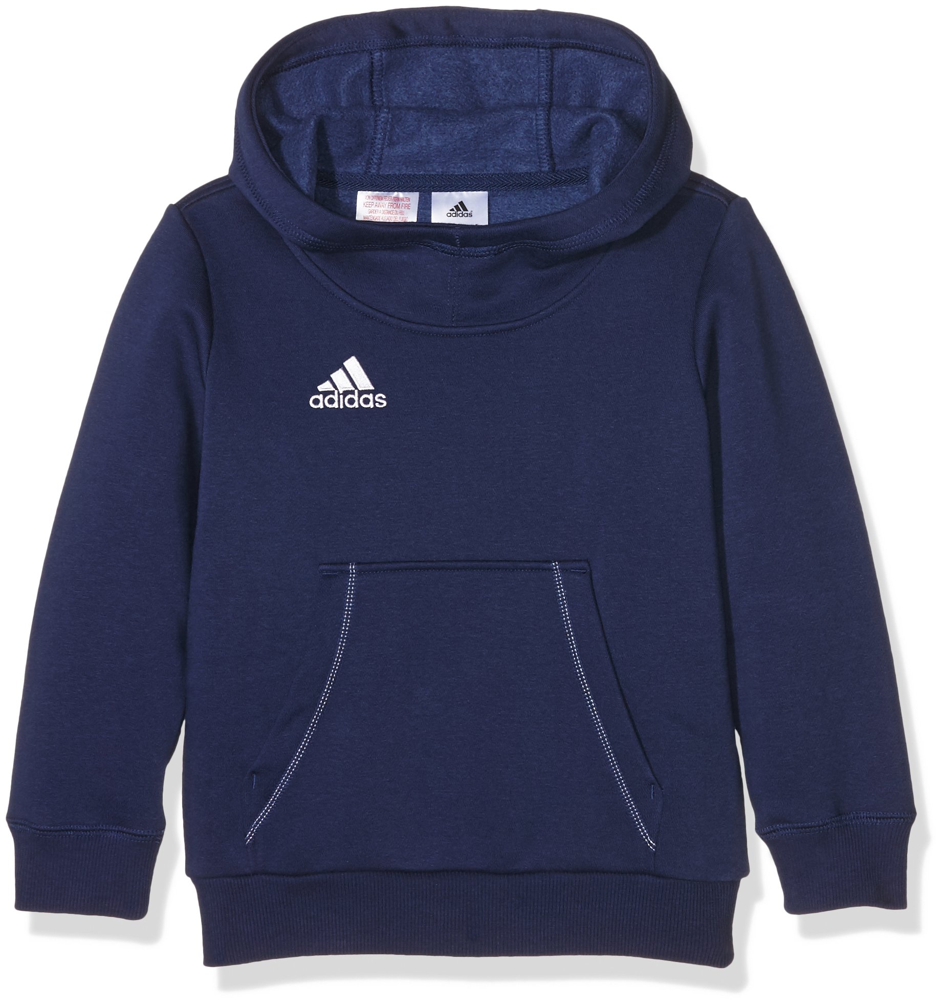adidas Core 15 Plain Hoodie - Youth - Navy - Age 7-8